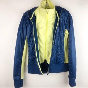 RARE Lululemon Uba Hoodie Jacket Lux SE Blue
